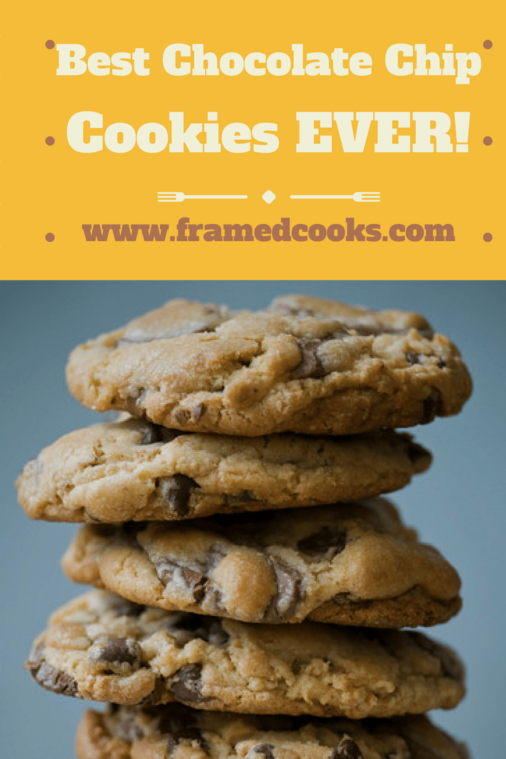 This recipe for the best chocolate chip cookies ever may take two days, but they are worth every single second that it takes to make them!
