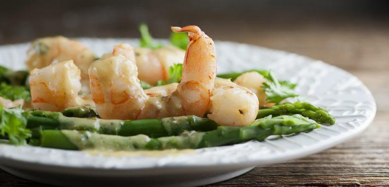 Dijon Shrimp Scampi
