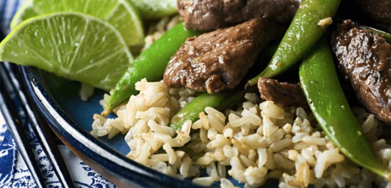 Beef Stir-Fry with Sugar Snap Peas