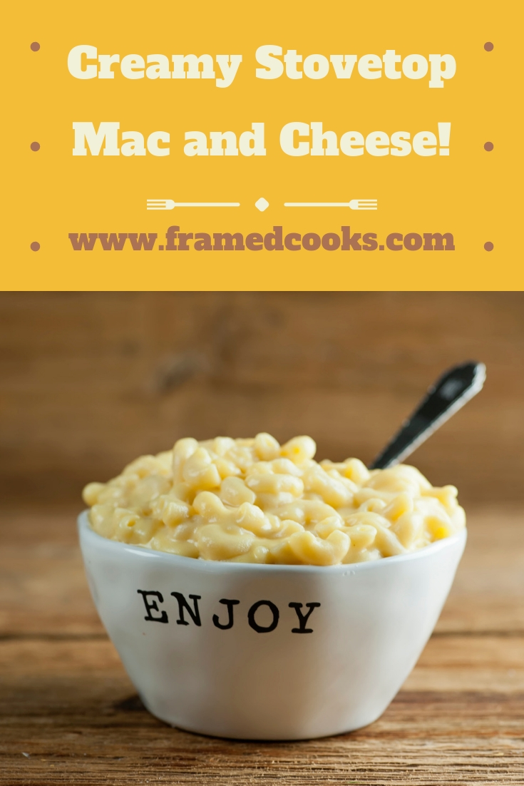 Looking for easy, dreamy creamy stovetop macaroni and cheese that doesn't require any time in the oven? Here's your recipe! (And your kids' favorite.)