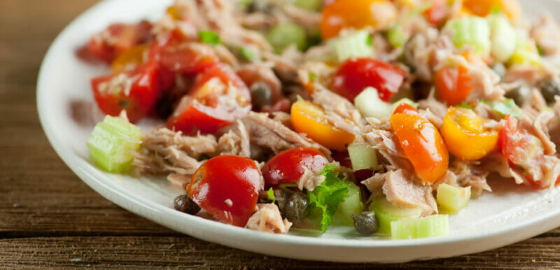 Summertime Tuna Salad