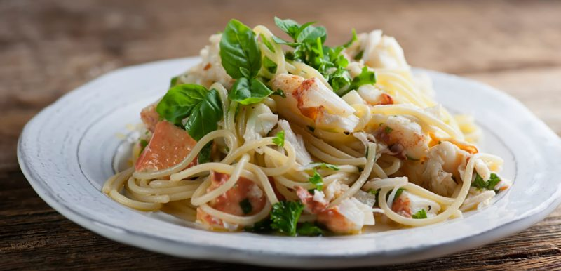The Way Life Should Be, or Pasta with Lobster