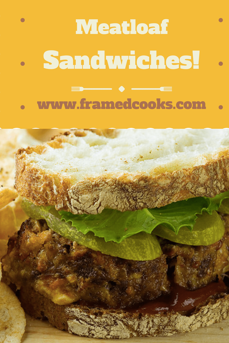 The only thing better than meatloaf? Sandwiches made out of the leftovers!!  There's nothing better for a busy weeknight supper than meatloaf sandwiches.