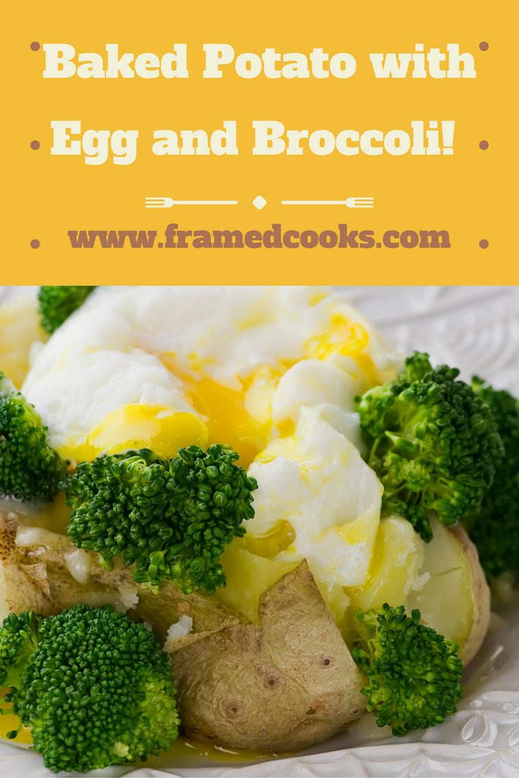 This recipe for a baked potato with broccoli, cheddar and egg is going to be your new speedy suppertime favorite!