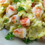 Shrimp with Cheese Grits