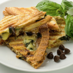 Chicken and Brie Sandwich with Pan-Roasted Cherry Tomatoes Ham, Brie ...