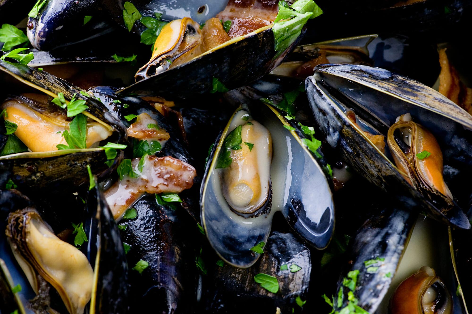 cider mussels