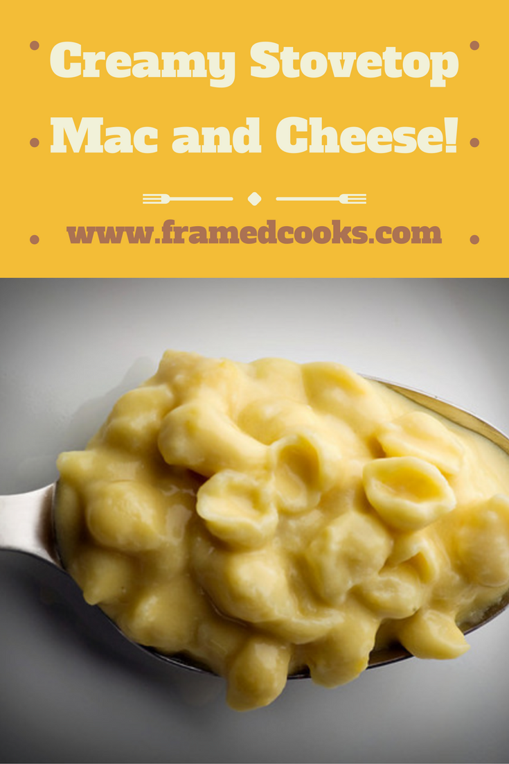 For the creamiest, dreamiest macaroni and cheese, don't even think of turning on your oven...it's all about the stovetop!