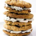 Oatmeal Sandwich Cookies with Rum Raisin Filling