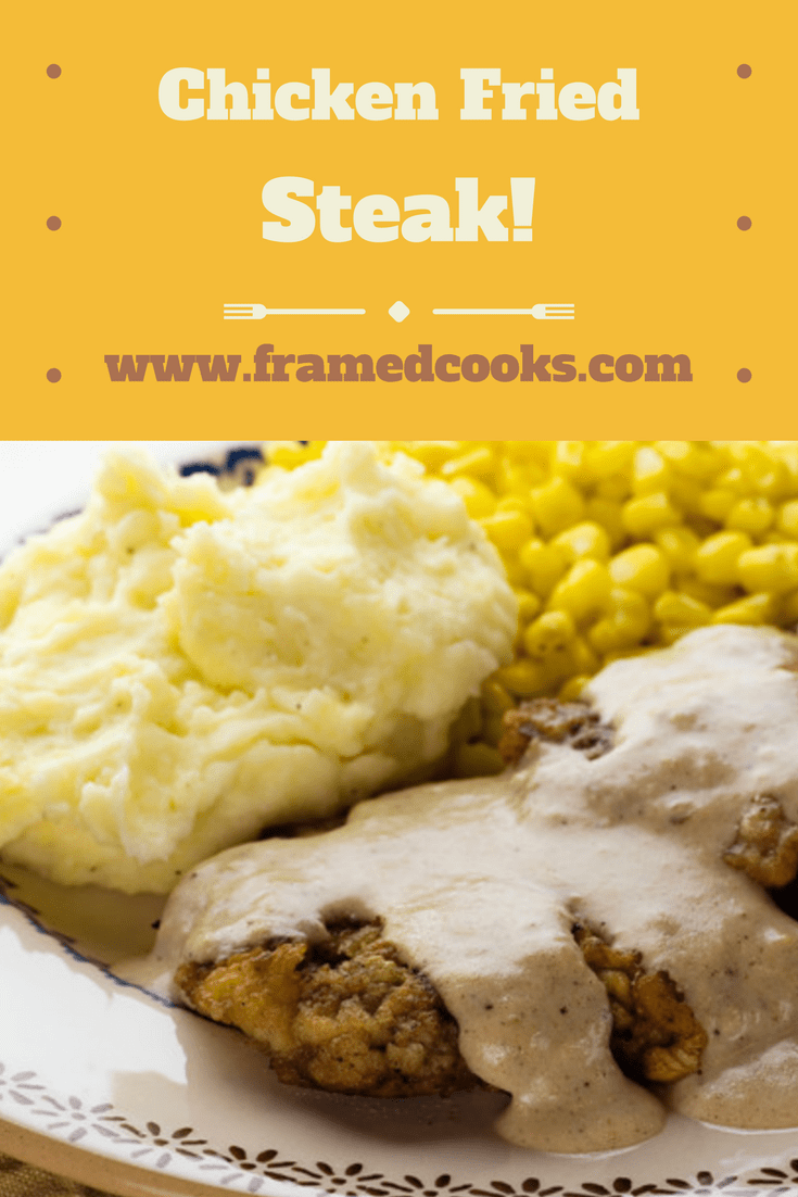 This recipe for chicken fried steak is the answer to all your comfort food country cooking dreams!  Complete with creamy gravy of course.