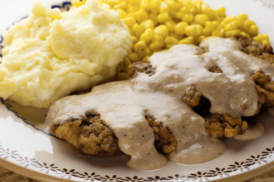 Chicken Fried Steak Framed Cooks