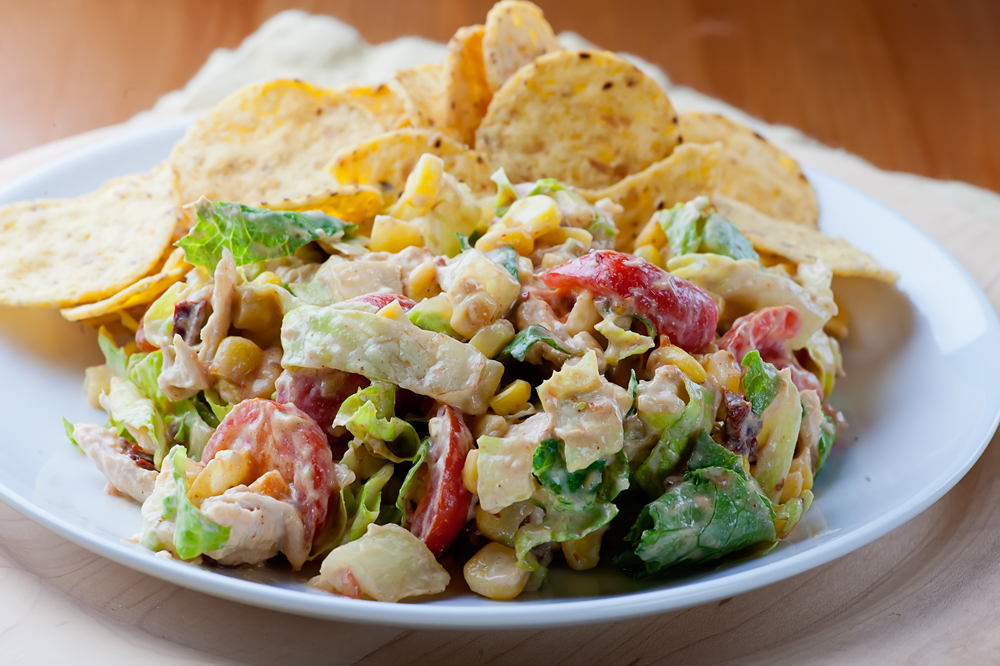 easy chipolte chicken salad