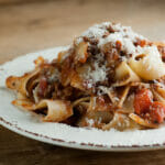 bolognese sauce in the slow cooker