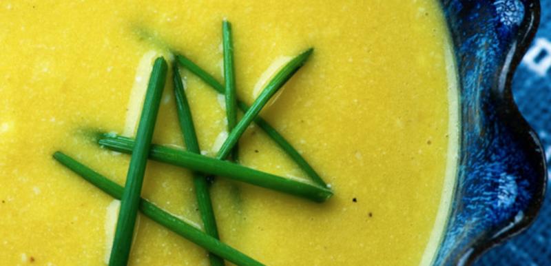 butternut cheddar soup