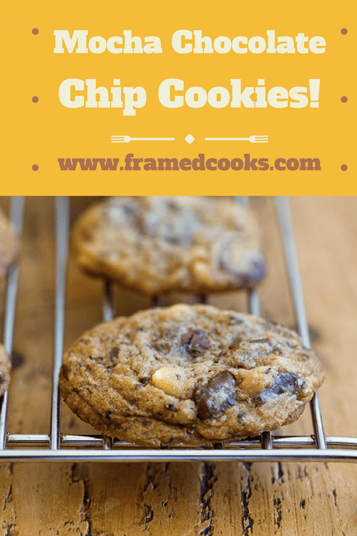 Add a little coffee to the cookie batter and kick things up a notch with this easy recipe for mocha chocolate chip cookies!