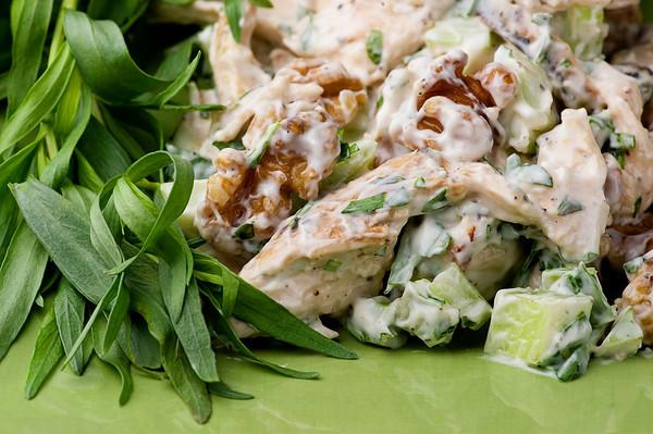 Tarragon Chicken Salad Framed Cooks