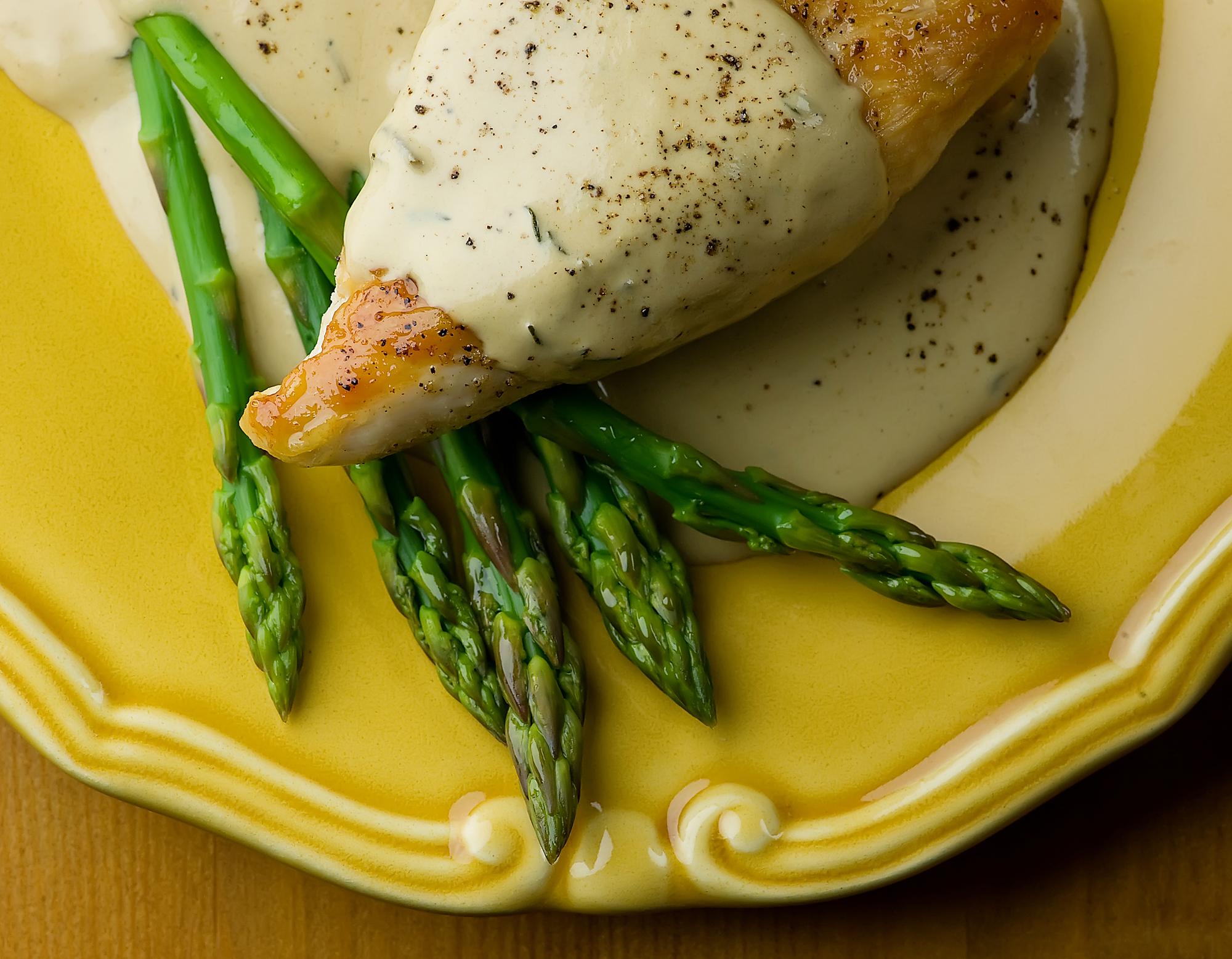 chicken in mustard wine cream sauce