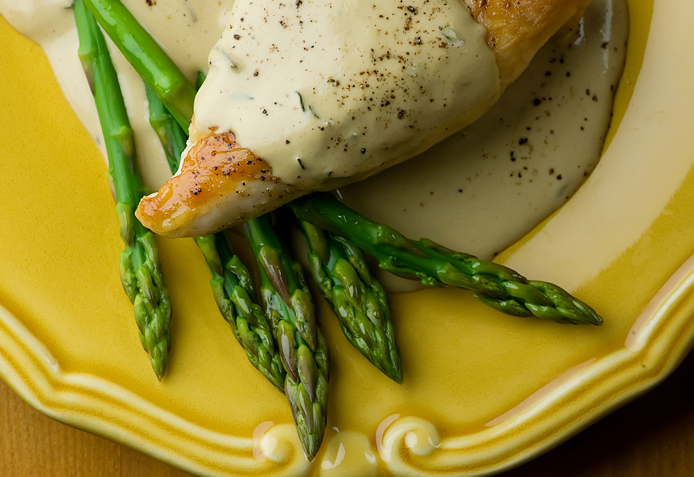 chicken in mustard wine cream sauce