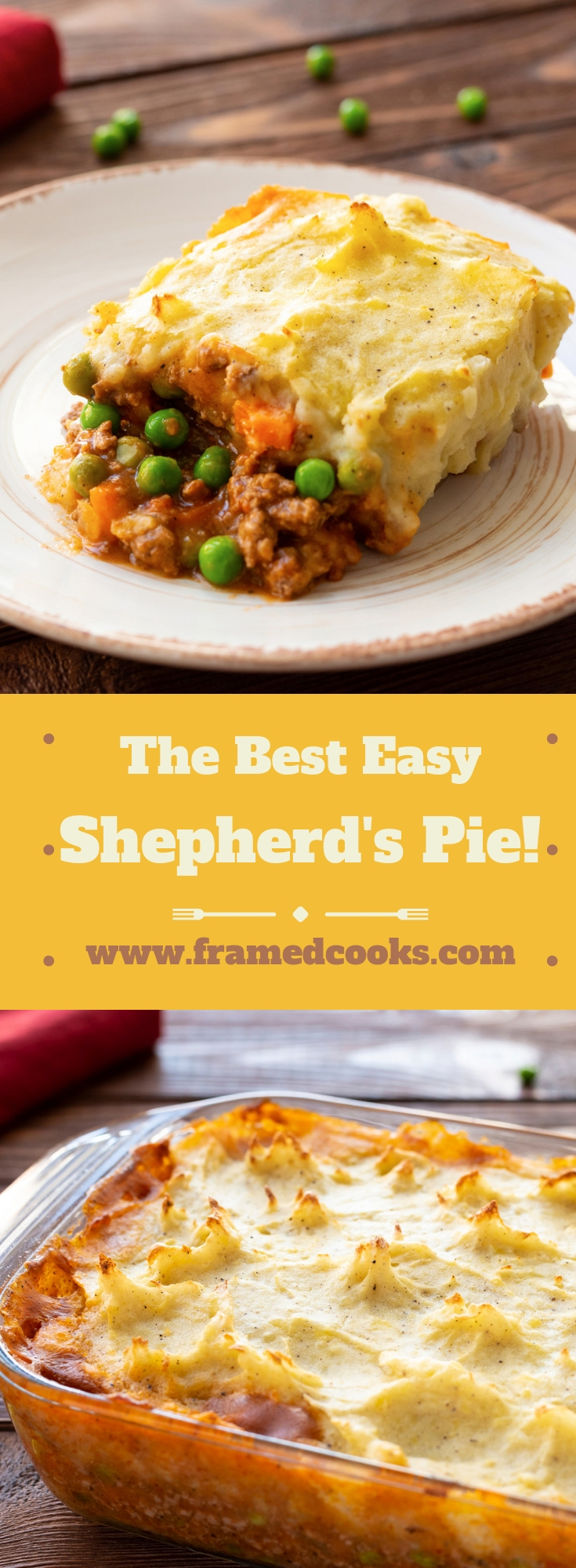 This easy recipe for shepherd's pie just might be the best comfort food EVER. Warm and wonderful and just right for your supper table.