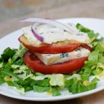 Tomato Blue Cheese Napoleons