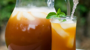how to make lemonade iced tea