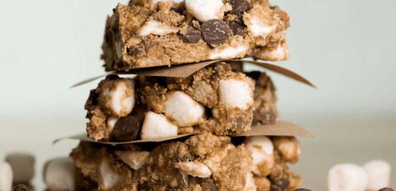 No Bake S'Mores Brownies