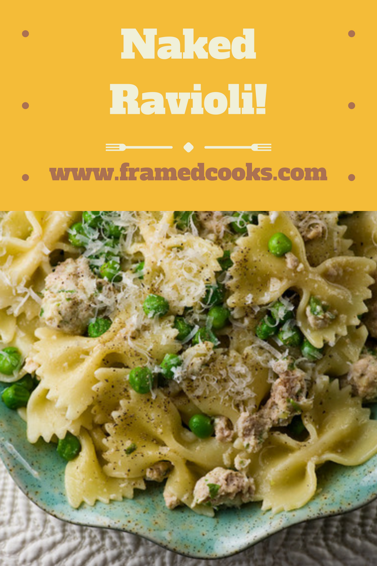 Ravioli tastes even better inside out with this quick and fun recipe!