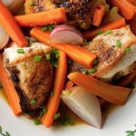 Braised Chicken with Spring Vegetables
