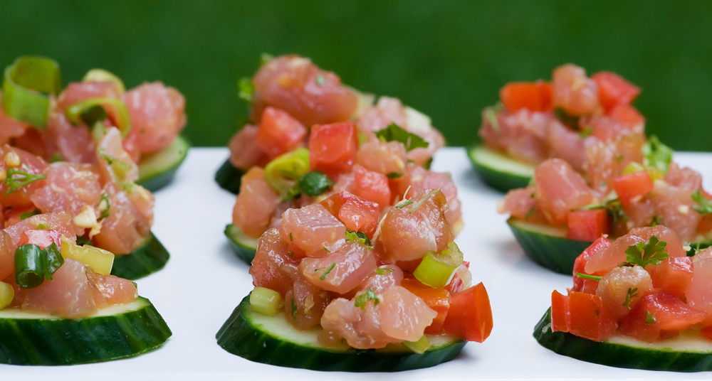 easy tuna tartare