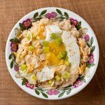 Savory Oatmeal with Soft-Cooked Egg and Cheddar