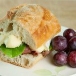 Roast Beef and Brie Sandwiches, aka The Gatsby Arrow