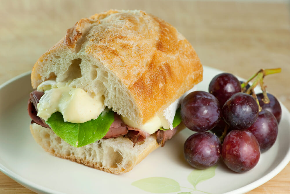 roast beef and brie sandwich