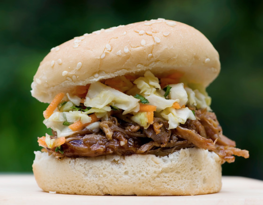 Pulled Pork Barbecue Sandwiches - Framed Cooks