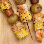 Low Country Boil Kebabs