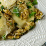 Agnolotti with Sage Walnut Cream Sauce Recipe - Framed Cooks