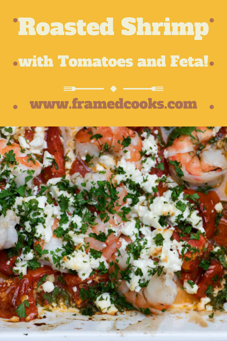 This recipe for roasted tomatoes with shrimp and feta combines three great tastes in one dish!