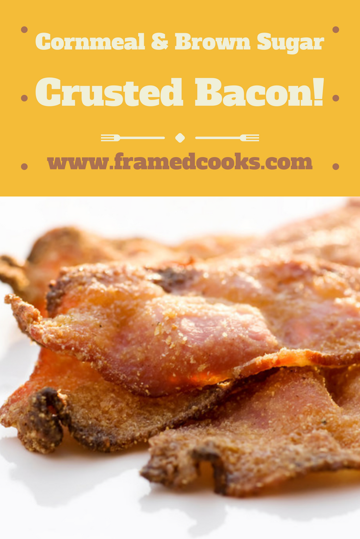 Bacon heaven comes with a little cornmeal and brown sugar in this ultimate bacon recipe!