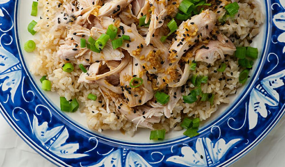 sake steamed chicken recipe