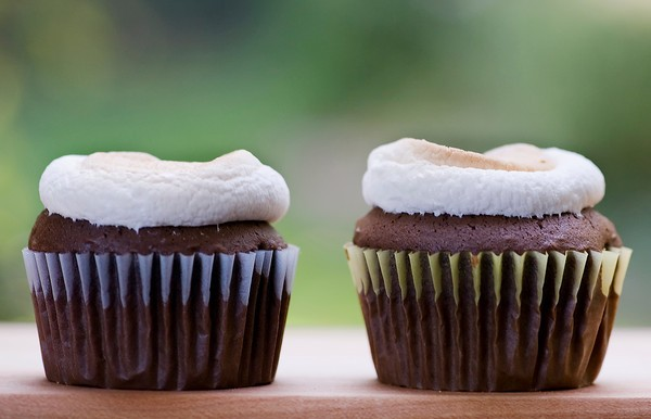 The Easiest Cupcake Frosting Ever