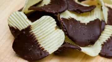Chocolate Dipped Potato Chips