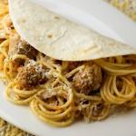Spaghetti Tacos!