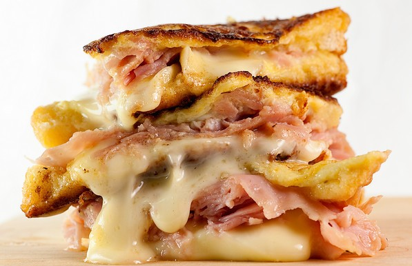 Brie Croque Monsieur Sandwiches