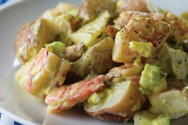 Shrimp Salad with Baby Red Potatoes