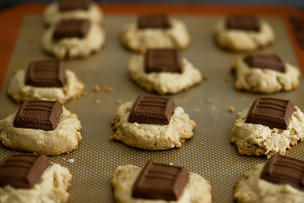 S'mores Cookies baking