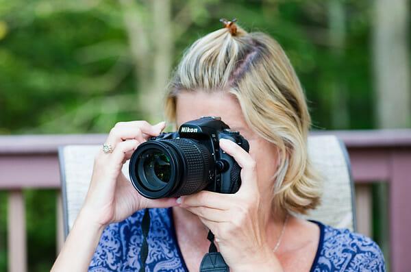 Lisa and camera