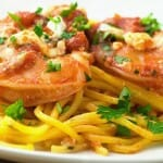 Greek Style Shrimp Scampi