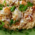 Coconut Shrimp Risotto