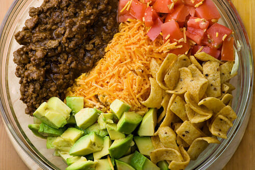 Taco Salad With Chips