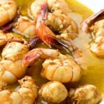 Cheater's Barbeque Garlic Shrimp and a Cookbook Contest!