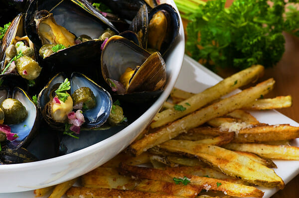 Mussel Bisque · Mussels